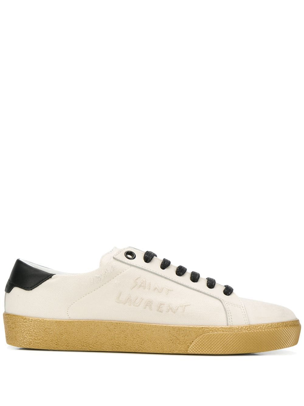 Saint Laurent Distress Sneakers