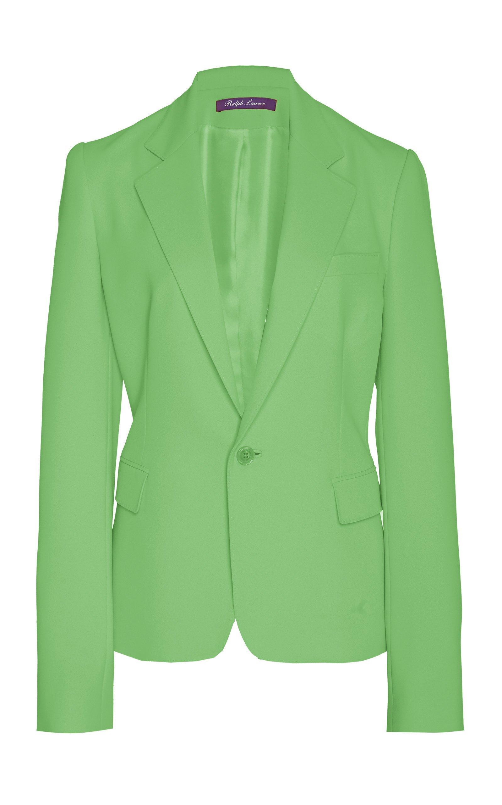 Ralph Lauren Leander Wool Crepe Jacket