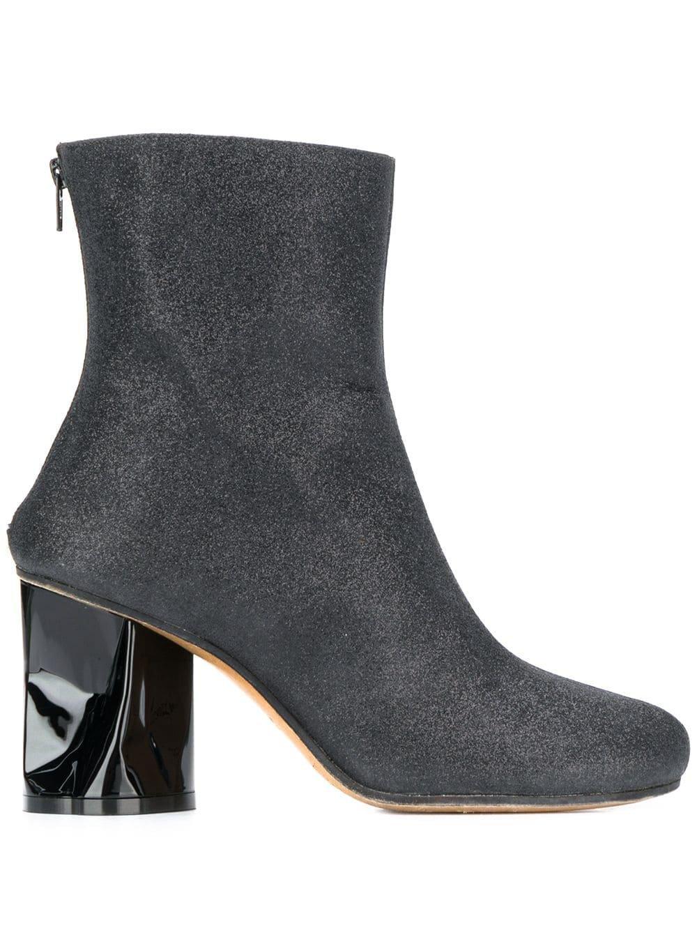 Maison Margiela Crushed Heel Ankle Boots - Farfetch