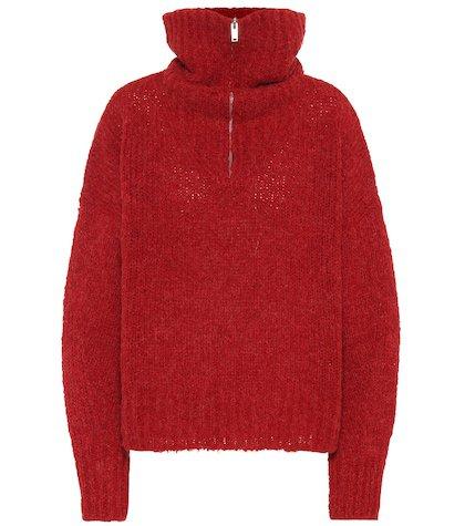 Cyclan alpaca-blend sweater
