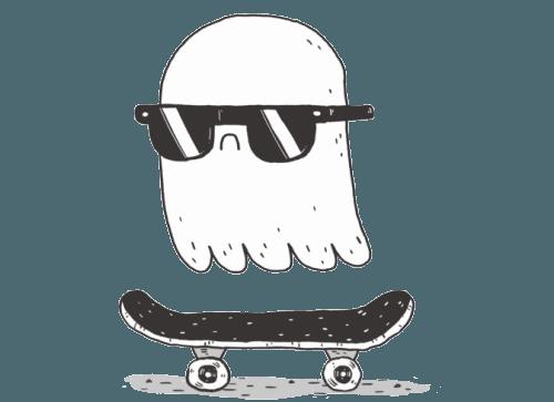 skate ghost