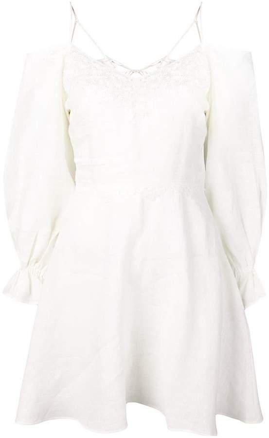A-line mini dress