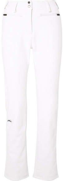 Kjus - Sella Jet Slim-leg Ski Pants - White