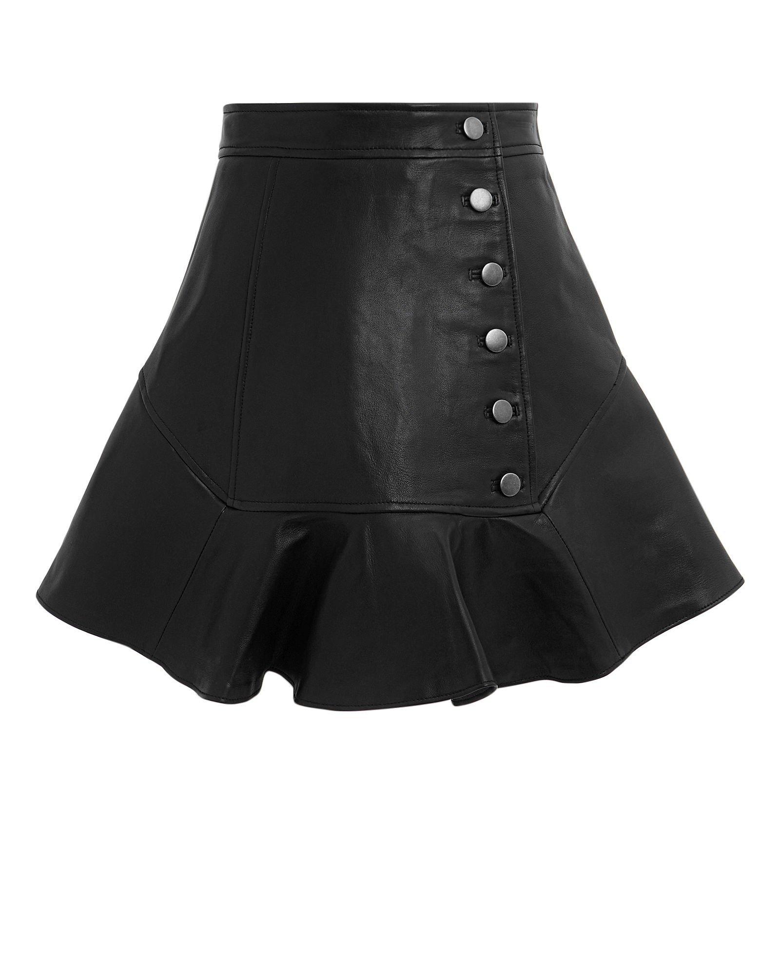 Ronan Leather Mini Skirt