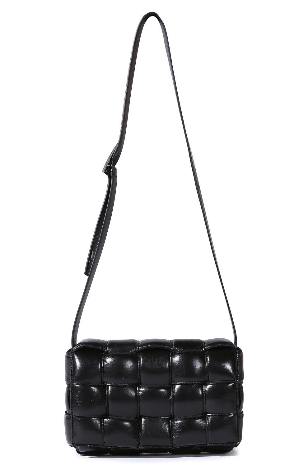 Женская сумка BOTTEGA VENETA черная цвета — купить за 141000 руб. в интернет-магазине ЦУМ, арт. 591970/VA9L1