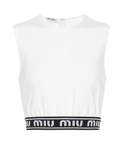 Logo crop top