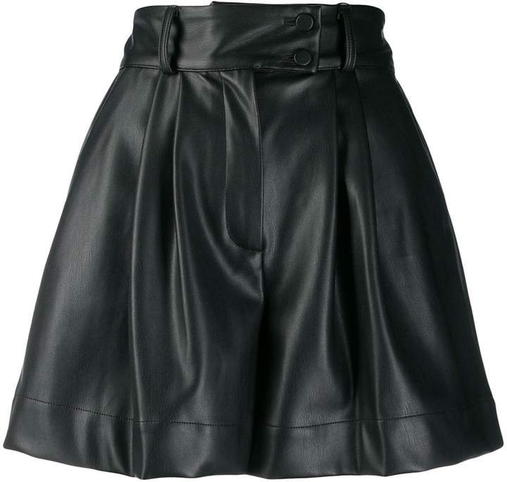 Styland high-waisted pleated shorts