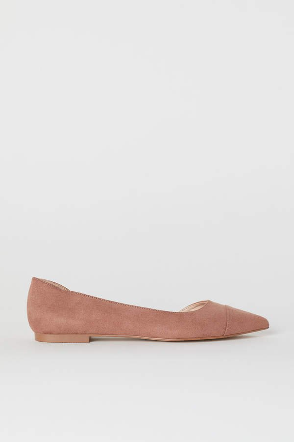Pointed Flats - Pink