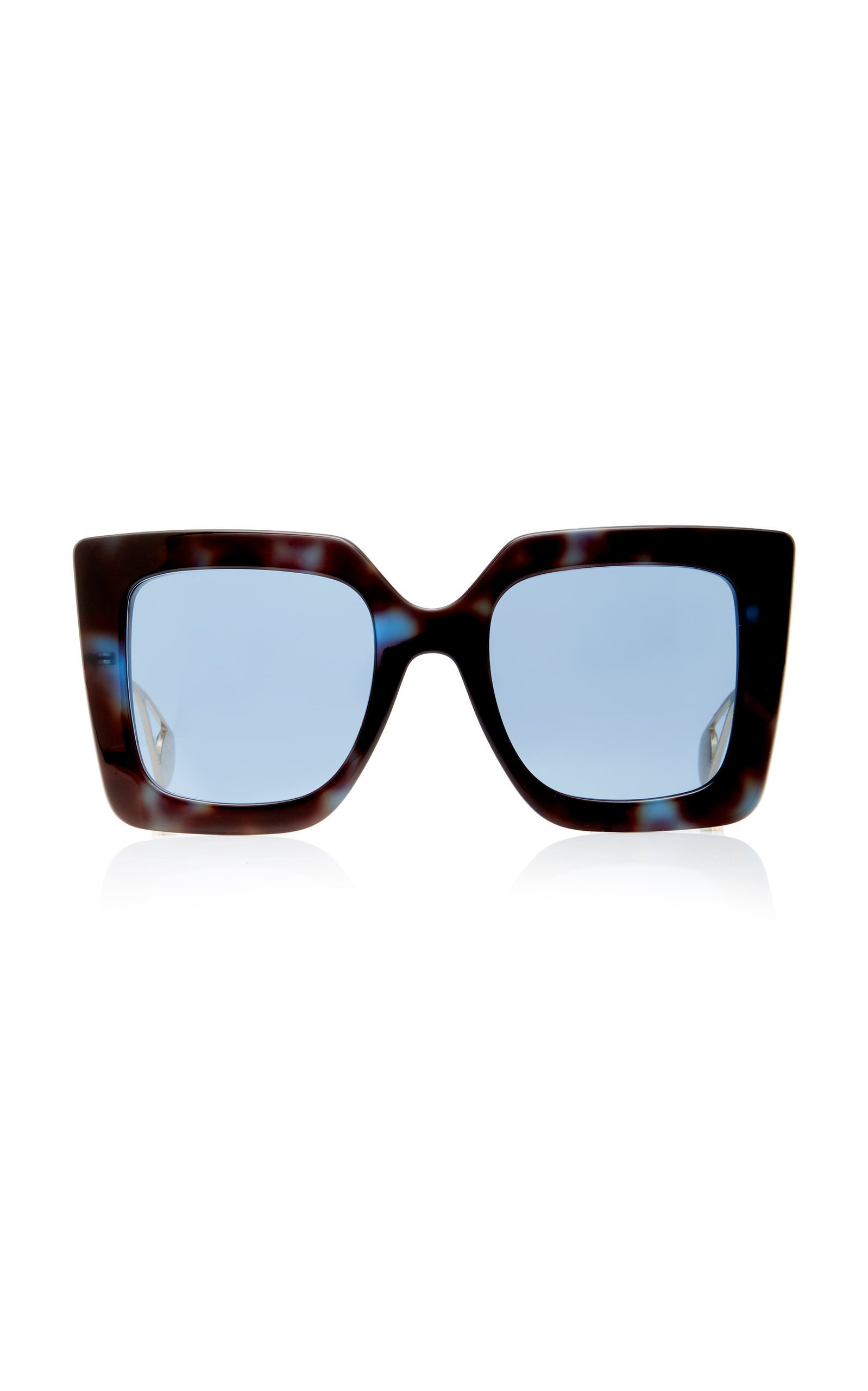 Gucci Evolution Oversized Square-Frame Sunglasses