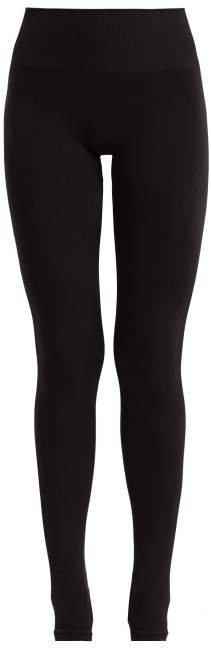 Pepper & Mayne - Margo Rib Knit Stirrup Leggings - Womens - Black