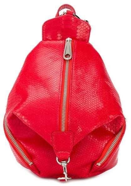 Julian snakeskin backpack