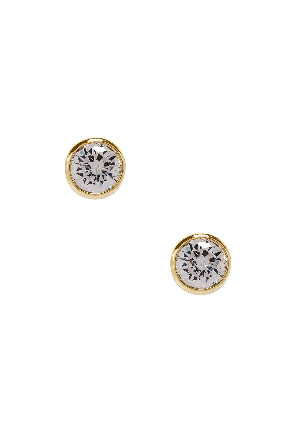 Solitaire Stud Earring