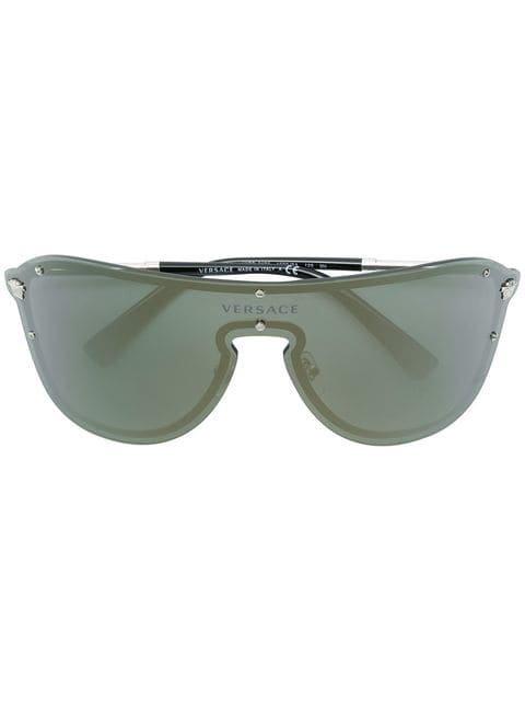 Versace Eyewear aviator mask sunglasses