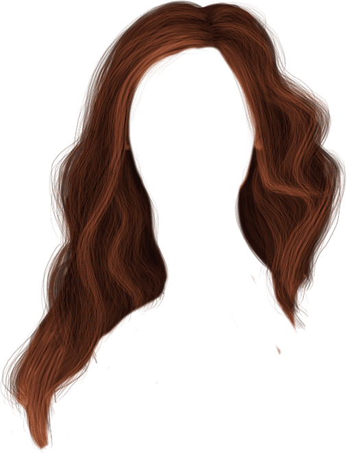 hair transparent background
