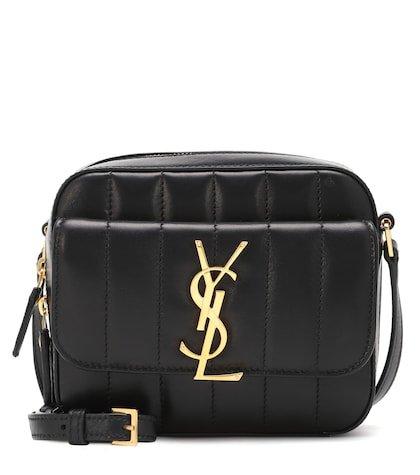 Mini Vicky leather shoulder bag
