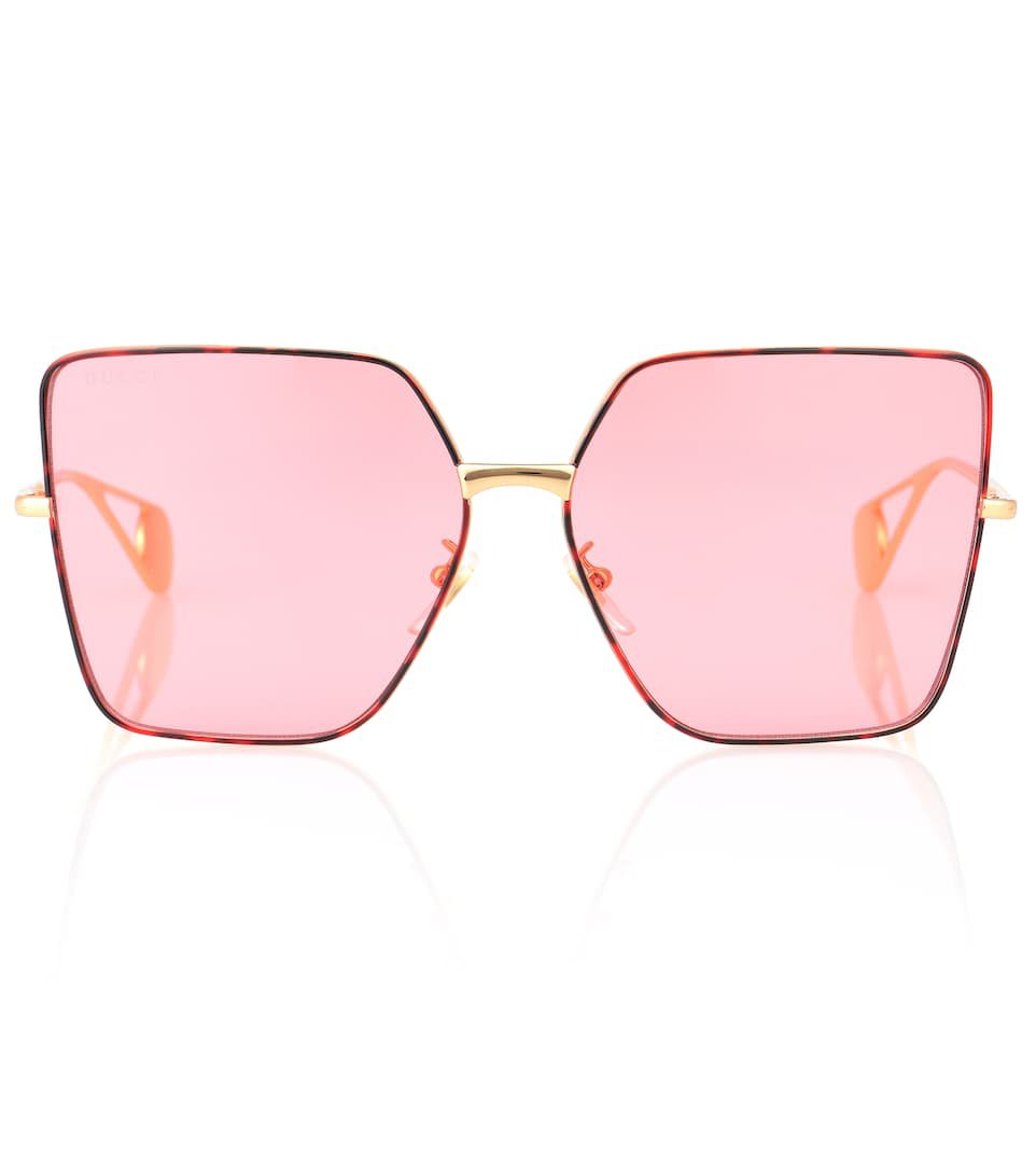 Square Metal Sunglasses | Gucci
