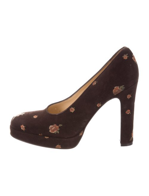 Dolce & Gabbana Floral High-Heel Pumps - Shoes - DAG118271 | The RealReal