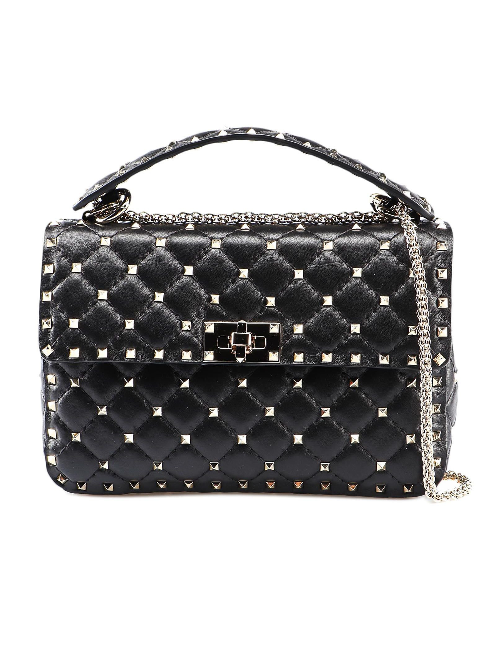 Rockstud Spike Md Shoulder Bag