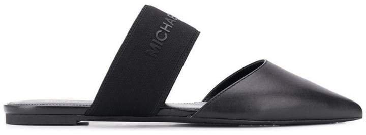 vintage slip-on sandals