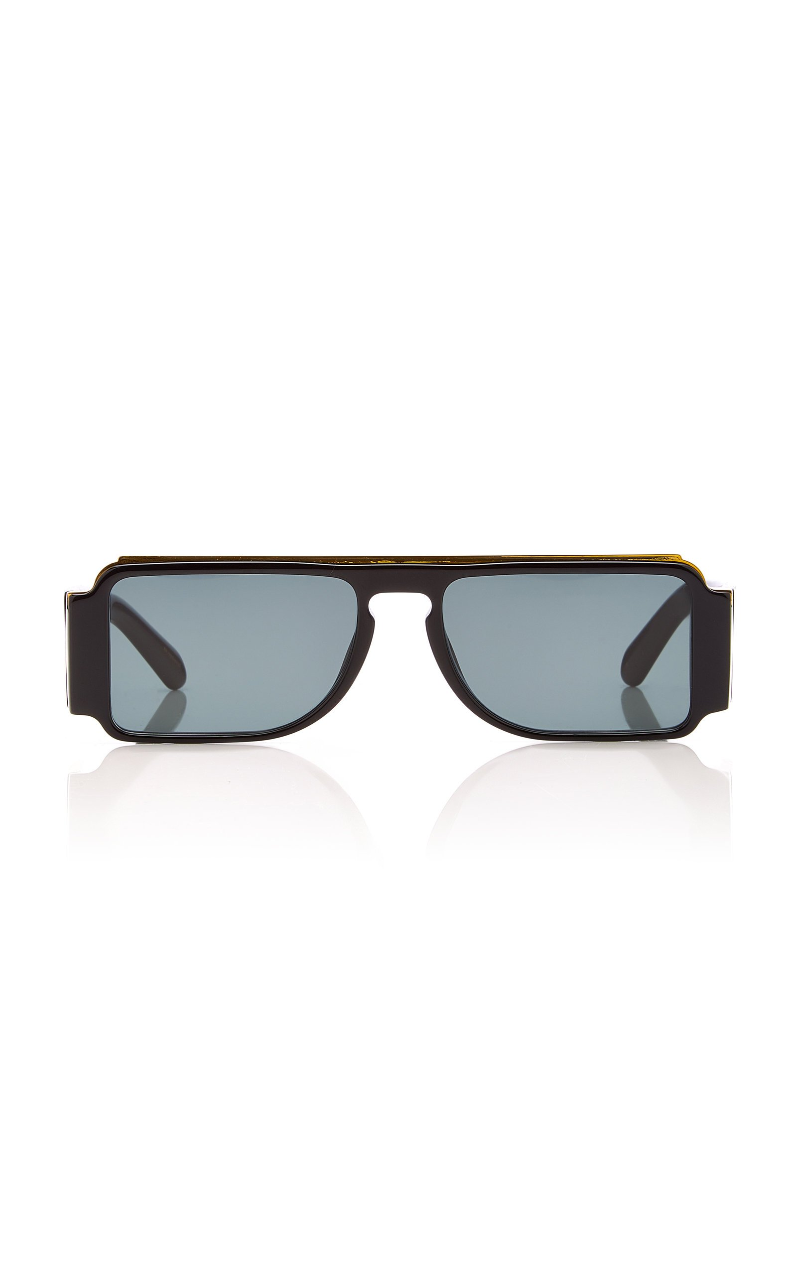 Karen Walker Grand Master Square-Frame Acetate Sunglasses