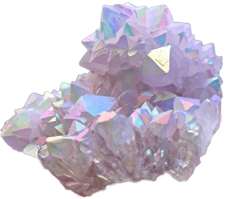 purple pastel crystal - Sticker by Rei