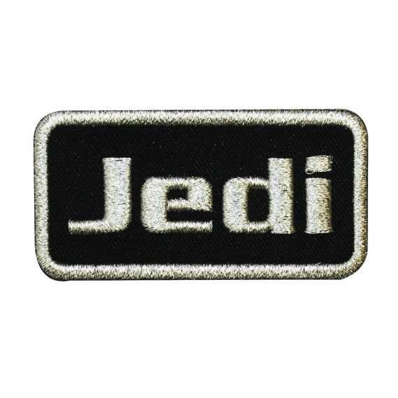 Star Wars Jedi Iron-On Patch Name-Tag DIY Cosplay