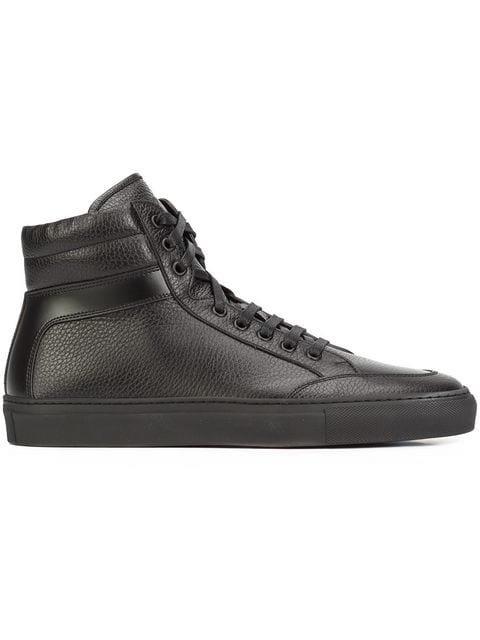 Koio 'Primo Nero' hi-top Sneakers