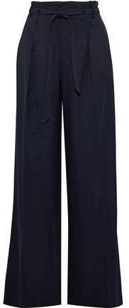 Woodcourt Twill Wide-leg Pants