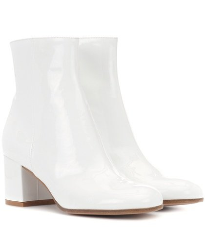 Exclusive to mytheresa.com – Margaux Mid patent leather ankle boots
