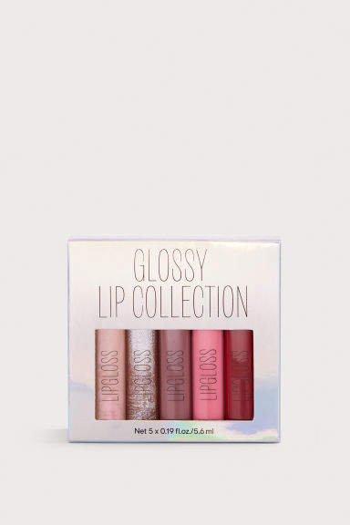 Lipgloss Kit - Silver