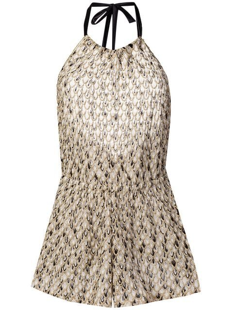 Missoni Mare Patterned Playsuit - Farfetch