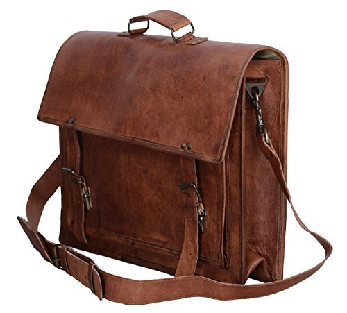 Brown Leather Computer Bag