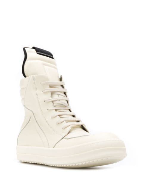 Rick Owens geo basket sneakers $1,140 - Buy Online - Mobile Friendly, Fast Delivery, Price