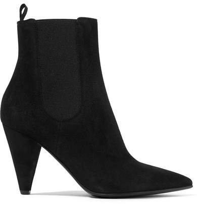 85 Suede Chelsea Boots - Black