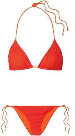 Mare Mare Pizzo Crochet-knit Triangle Bikini