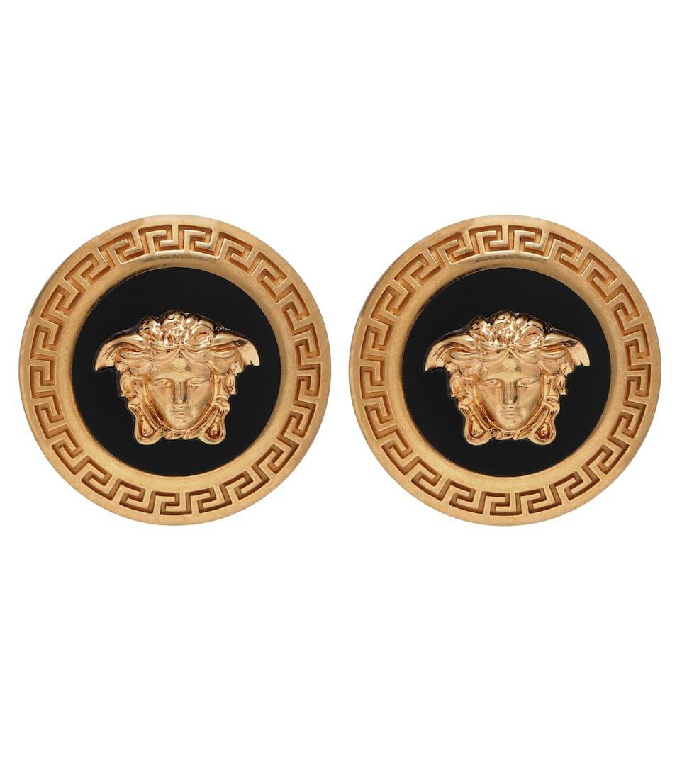 Versace - Logo earrings | Mytheresa