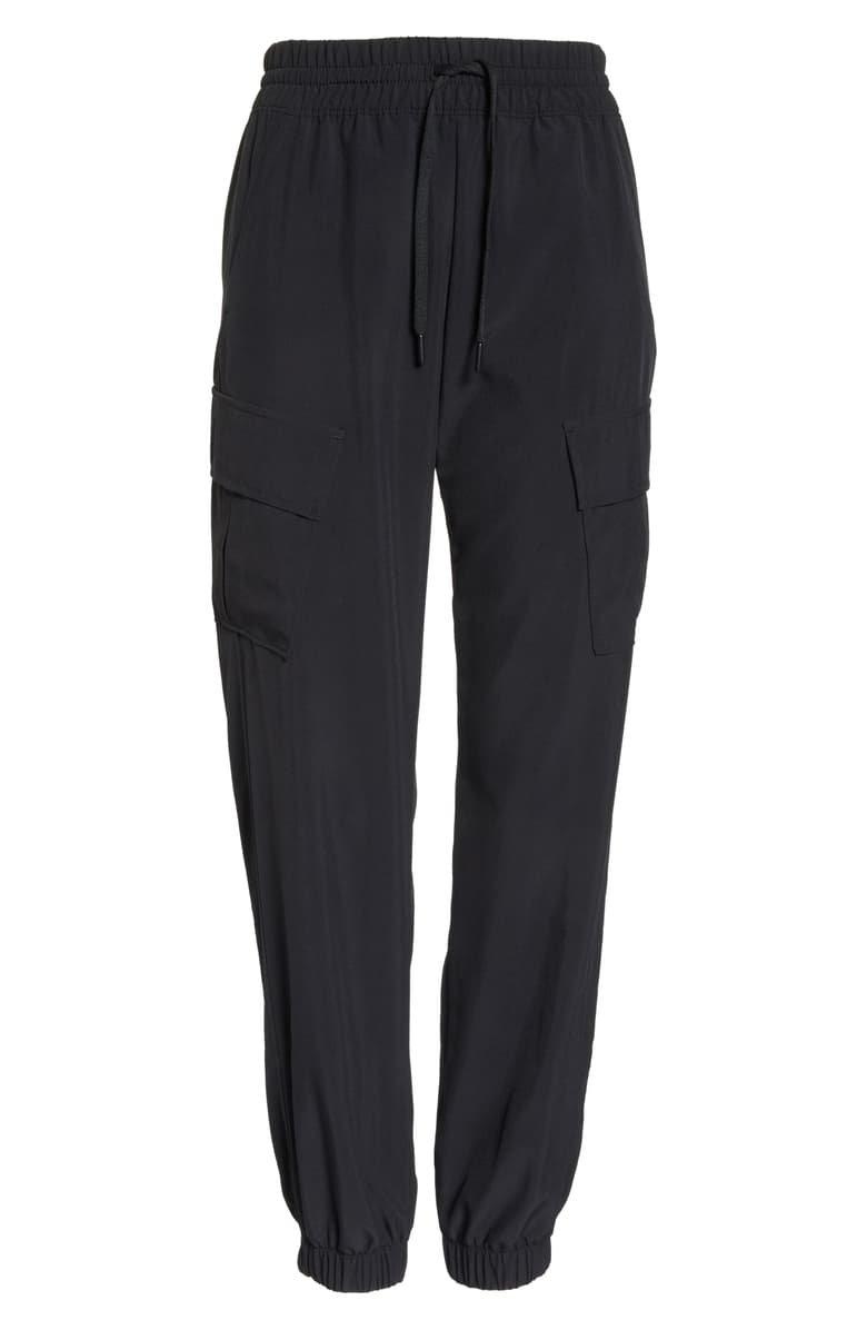 Zella Urban Cargo Jogger Pants Black
