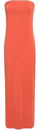 Strapless Stretch-jersey Maxi Dress
