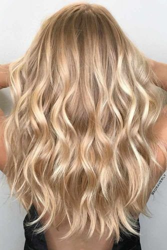 24 Bombshell Ideas for Blonde Hair with Highlights | Hair Color | Hair, Warm blonde hair, Hair Color
