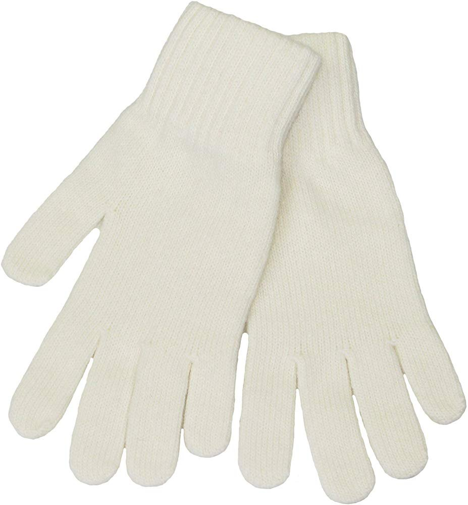 White Womens Wool Gloves - Lovarzi woollen gloves for women at Amazon Women's Clothing store: Cold Weather Gloves