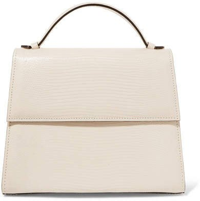 Hunting Season - Mini Lizard Tote - Ivory
