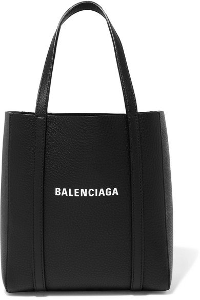 Balenciaga | Everyday mini printed textured-leather tote | NET-A-PORTER.COM