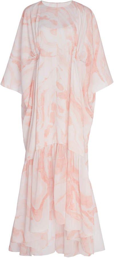 Noon by Noor Havant Abstract-Print Maxi Dress