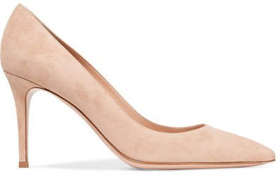 85 Suede Pumps - Beige