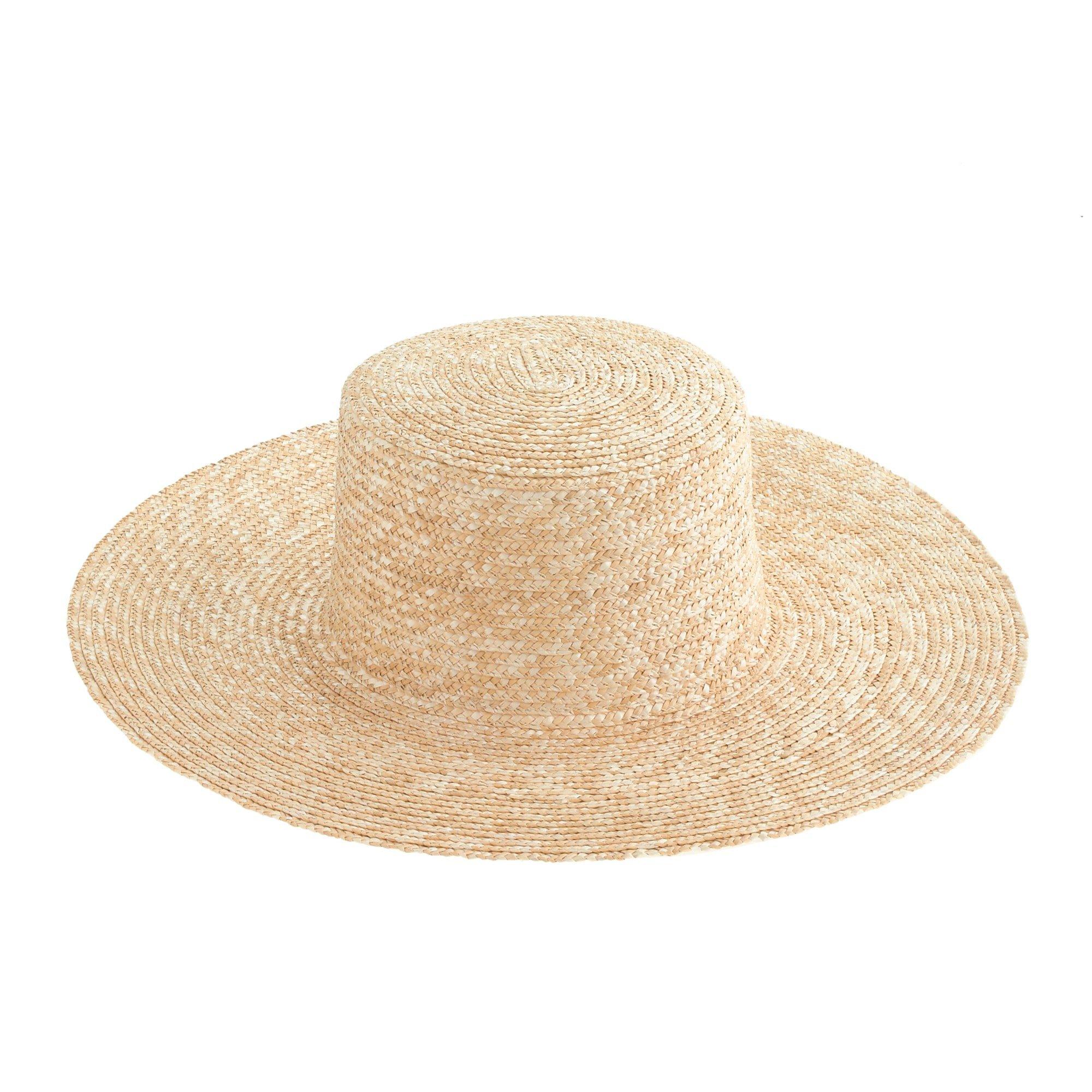 J.Crew: Wide-brimmed Straw Beach Hat