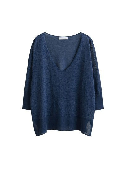 Violeta BY MANGO Fine-knit sweater