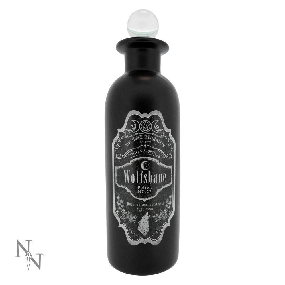 Nemesis Now Wolsbane potion bottle