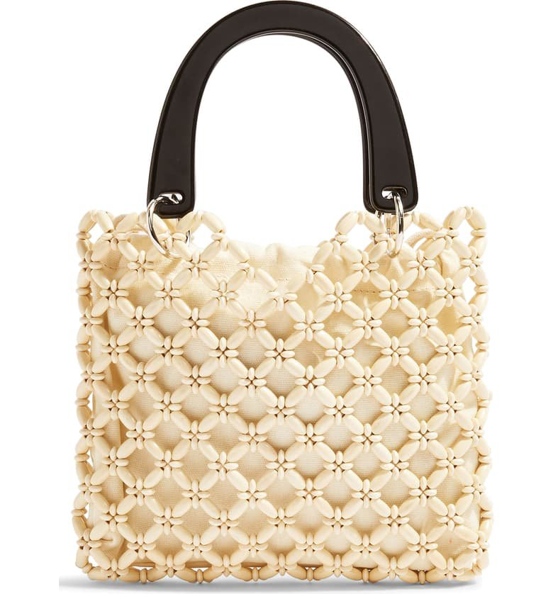 Topshop South Bead Mini Tote Bag | Nordstrom