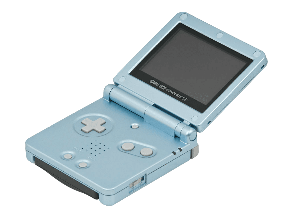 blue gameboy