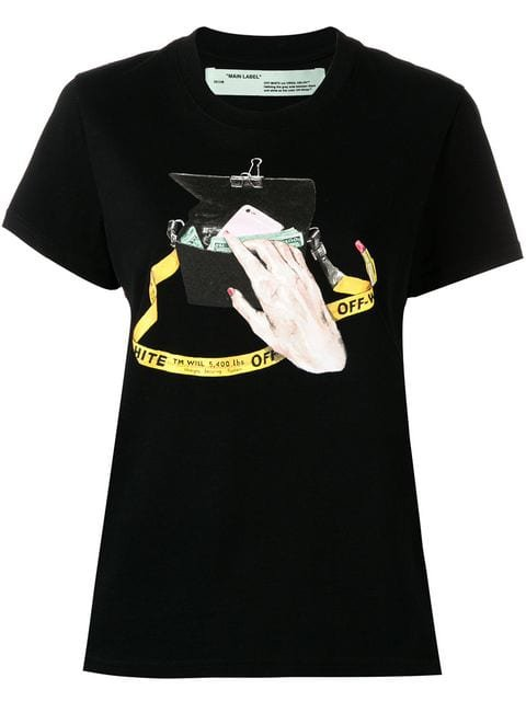 Off-White Graphic Print T-shirt - Farfetch